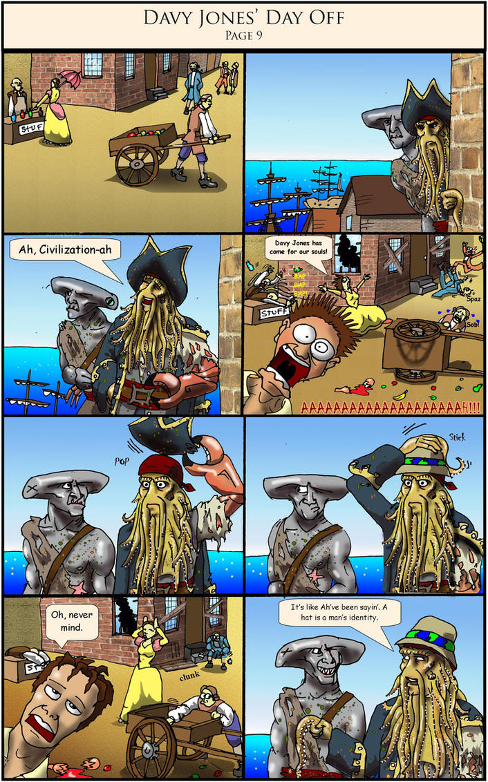 Davy Jones' Day Off pg 9 by Swashbookler