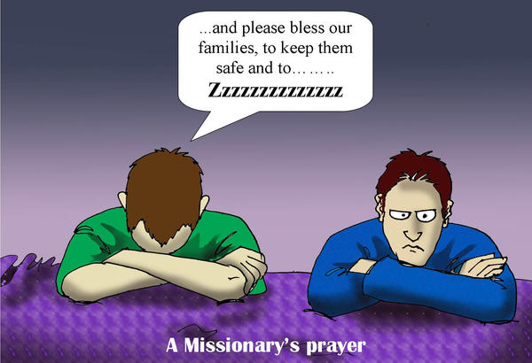 A Missionaries Prayer by Swashbookler