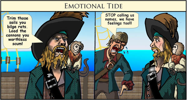 Emotional Tide by Swashbookler