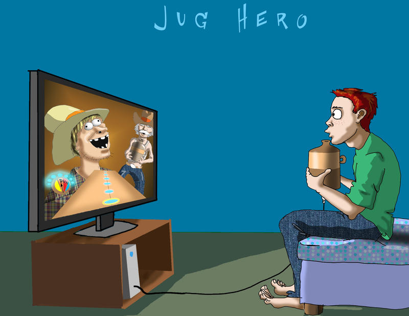 Jug Hero by Swashbookler