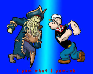 Popeye vs Jones by Swashbookler