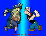 Popeye vs Jones