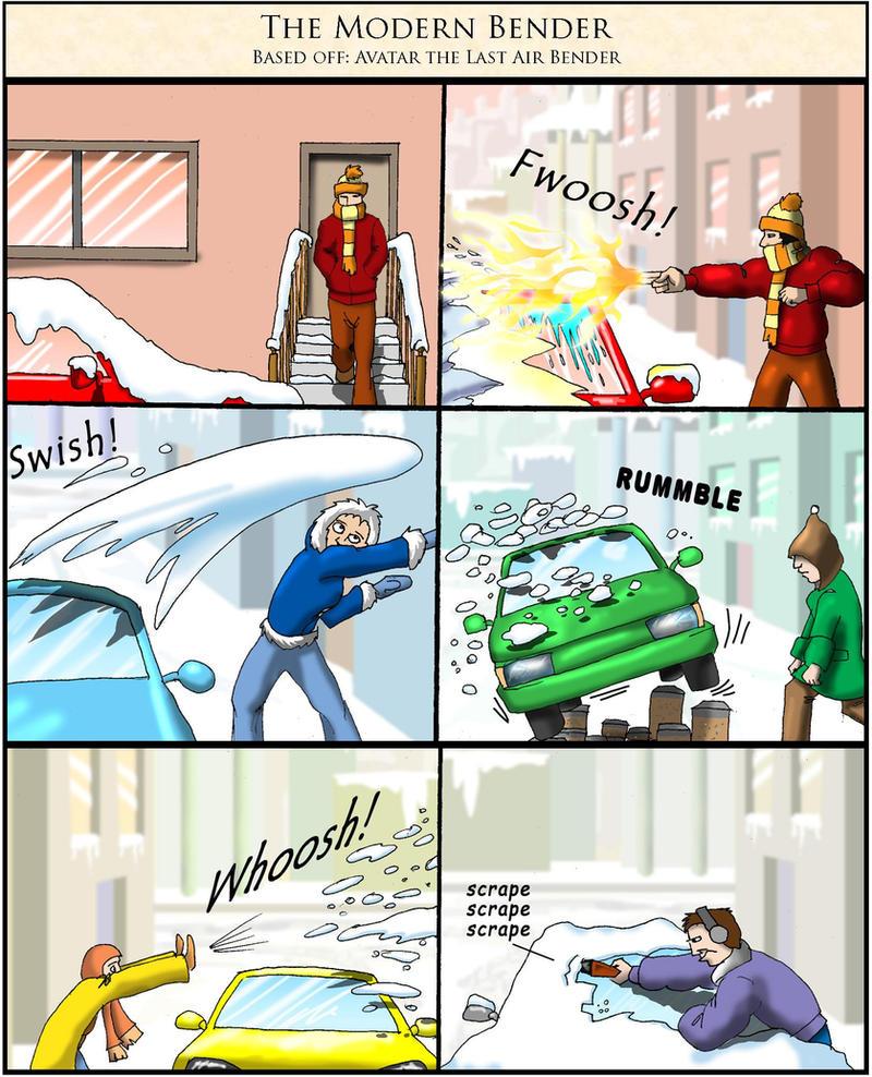 The Modern Bender by Swashbookler
