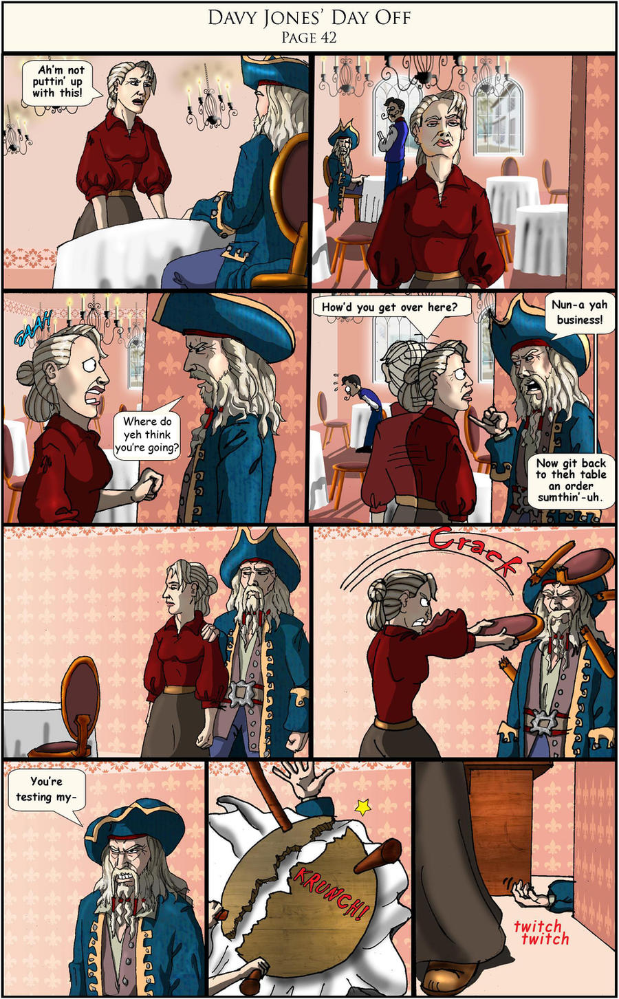 Davy Jones' Day Off pg 42 by Swashbookler