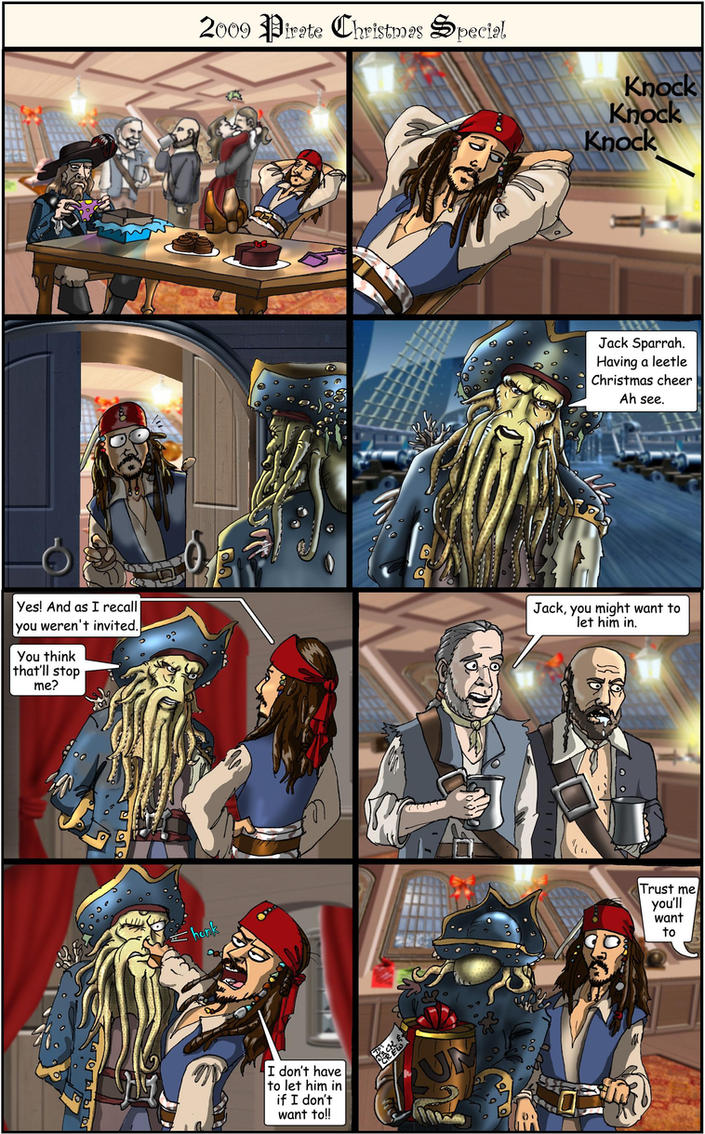 2009 Pirate Christmas Special by Swashbookler