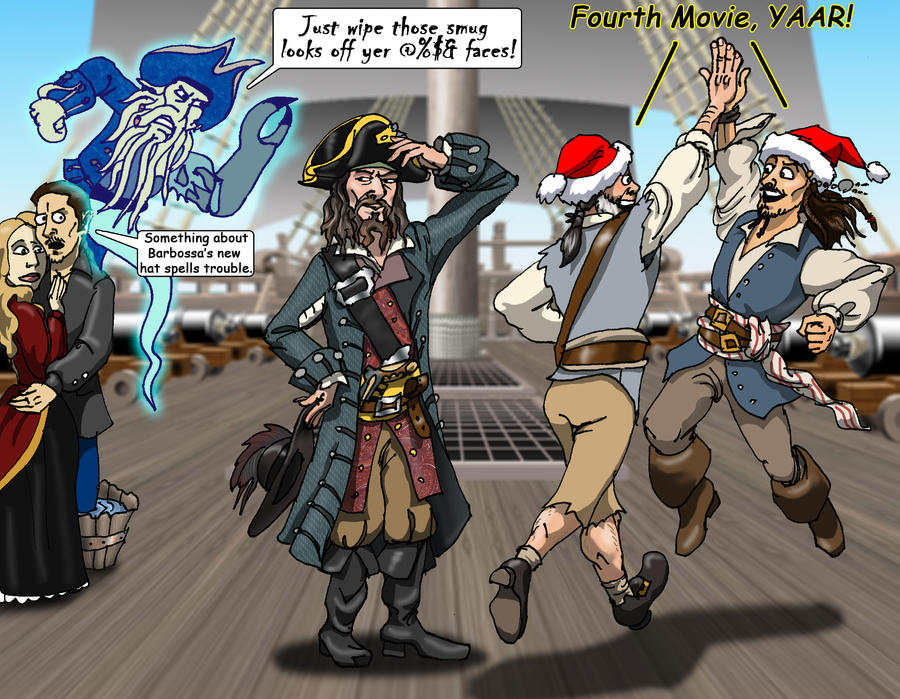 2010 Pirate X-mas Special by Swashbookler