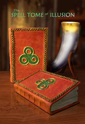 Spell Tome of Illusion ~SOLD by Swashbookler