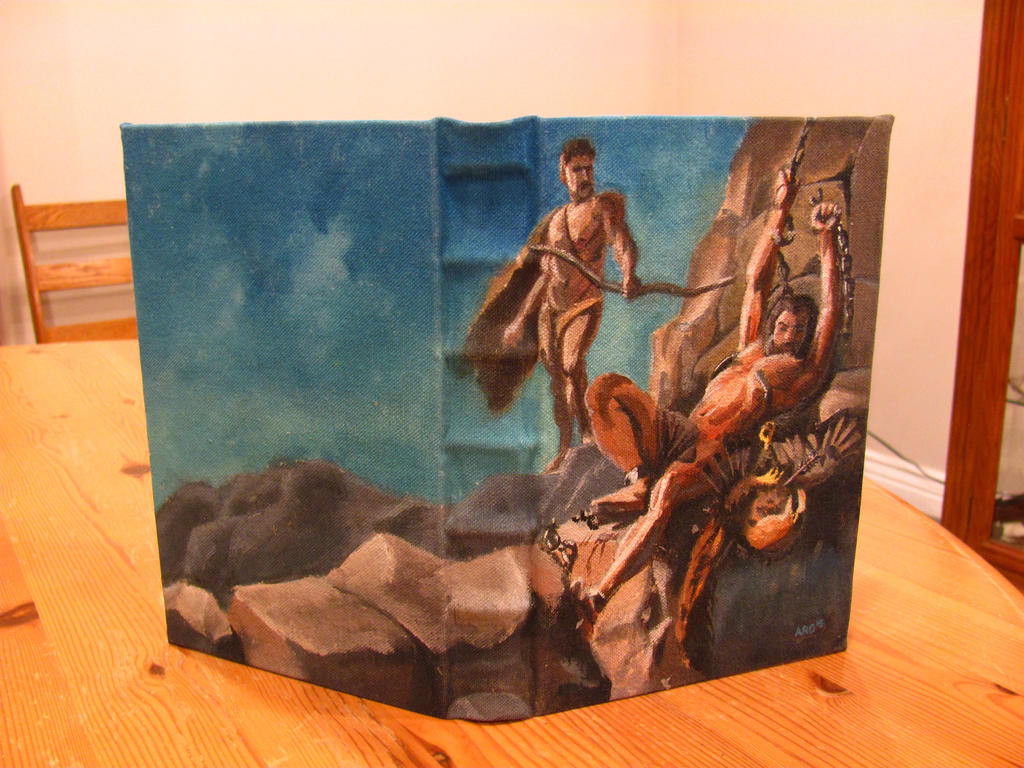 Liberation of Prometheus -Painted Journal by Swashbookler