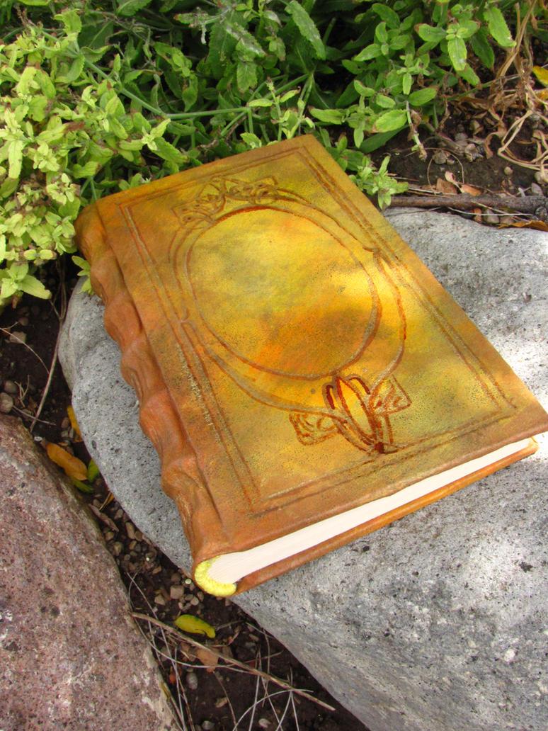 Ornate Gold Journal/Sketchbook by Swashbookler