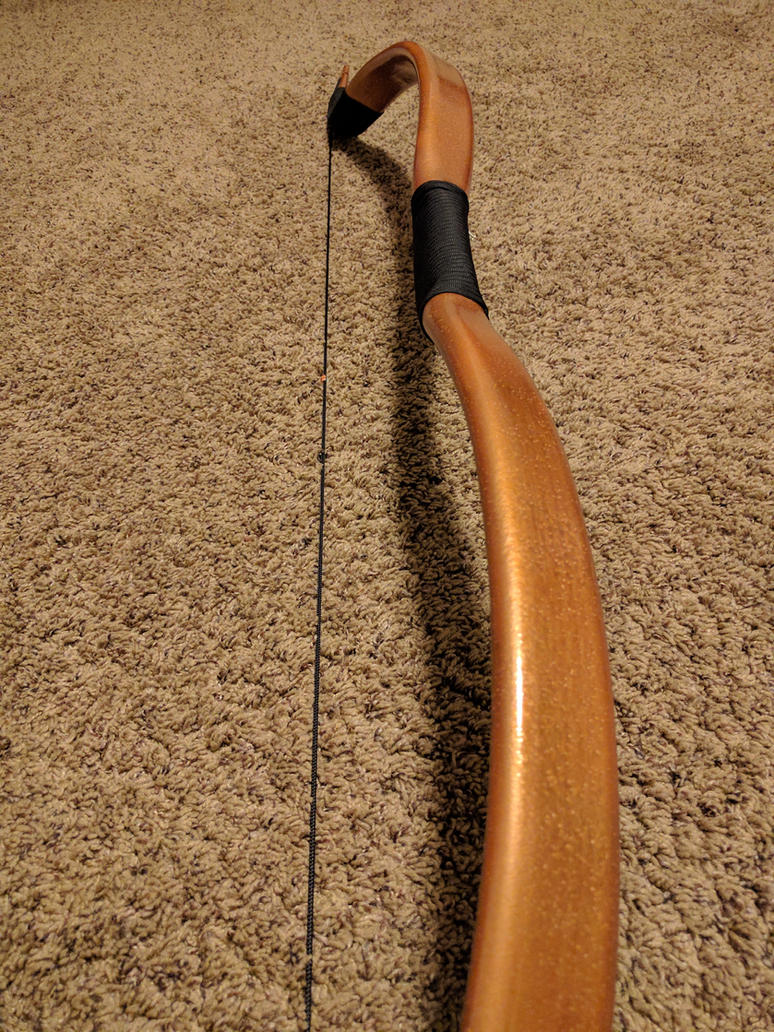 My custom recurve bow (3) by Swashbookler