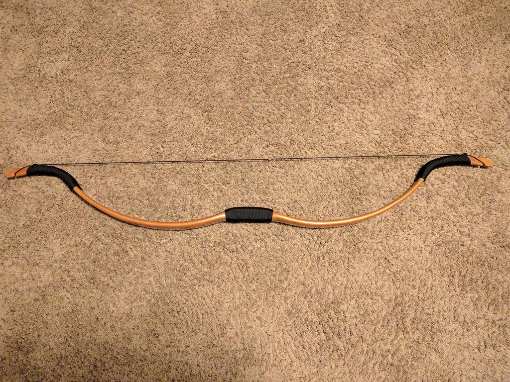 My custom recurve bow (1) by Swashbookler
