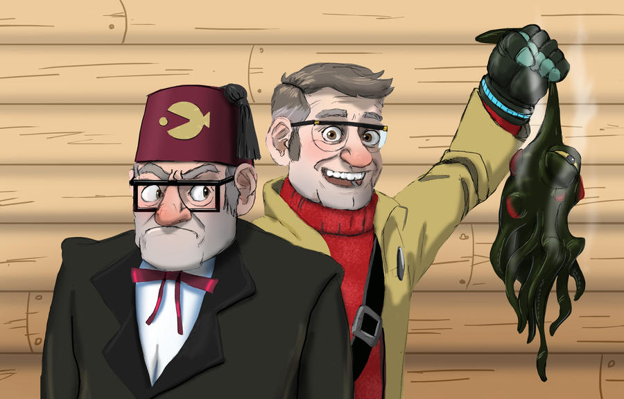 Stan and Ford Portrait