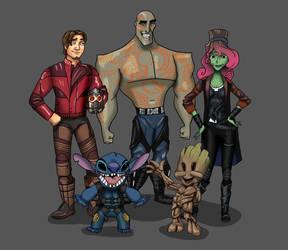 Guardians of the Galaxy Hero Swap