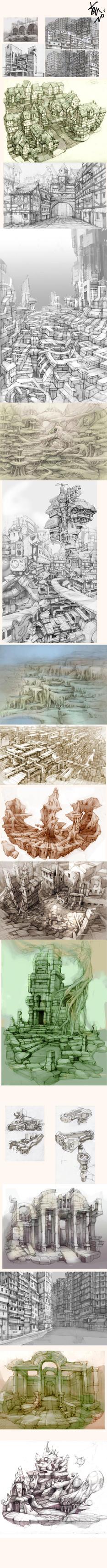 my sketch by yunhyunjung