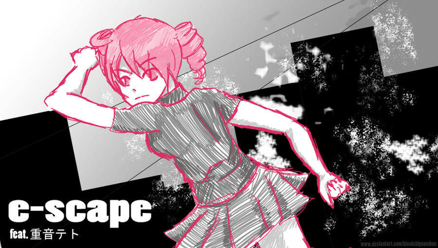 e-scape - Teto Kasane by shinatarou