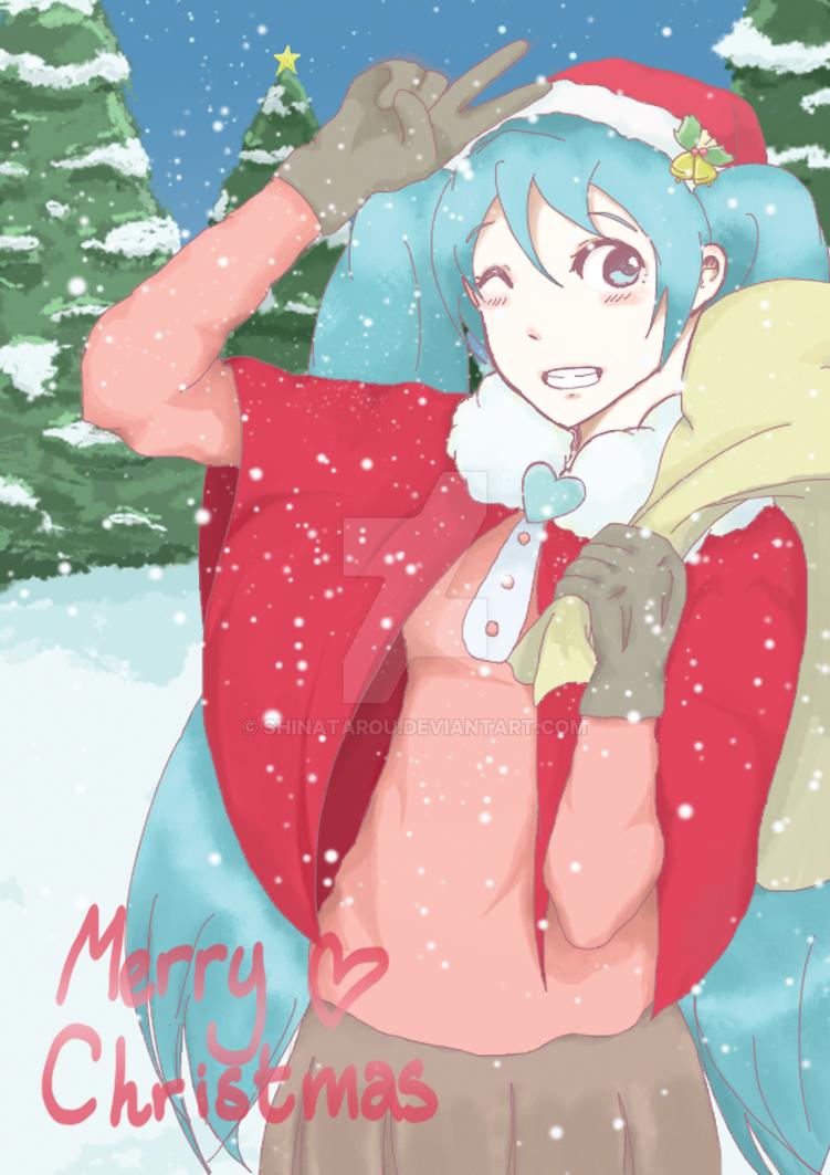 2013: Happy Mikumas! by shinatarou