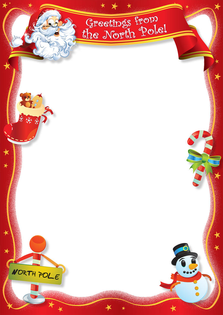 Blank Letter From Santa Template Free | Search Results | Calendar 2015