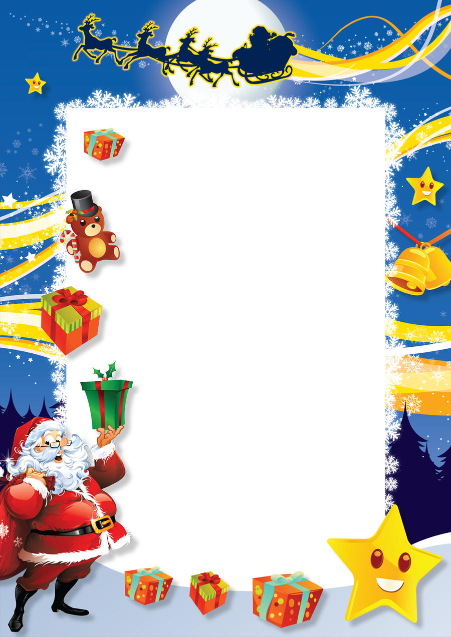 Free Santa Letter Template Free Santa Letter Template Microsoft Word