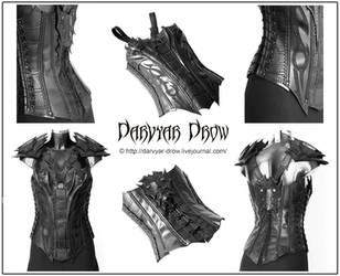 Drow corset by Darvyar