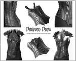 Drow corset