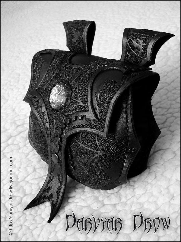 Drow bag by Darvyar