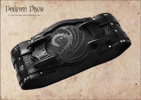 Wide belt by Darvyar