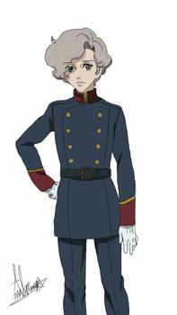 Jonah Matsuka from Terra e in Vers uniform