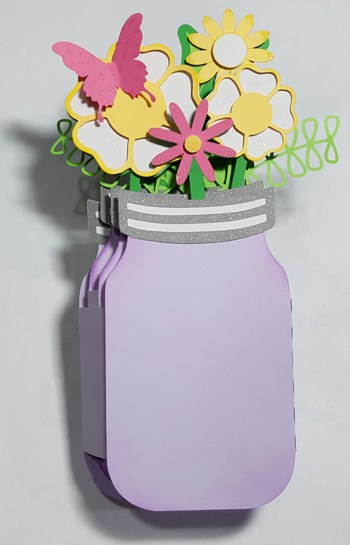 Mason jar vase pop up card by uniquedesignbymonica on deviantart mason jar vase pop up card by uniquedesignbymonica reviewsmspy