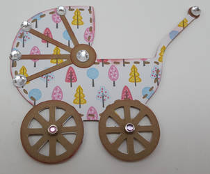 Baby Carriage by UniqueDesignsbyMonica by UniqueDesignByMonica