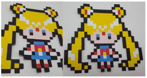 8-bit Sailor Moon by UniqueDesignsbyMonica by UniqueDesignByMonica
