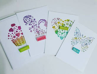 A2 Panel Heart Cards photo by Monica Vasquez 1-25- by UniqueDesignByMonica