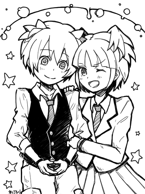 Nagisa And Kayano by WaCorori