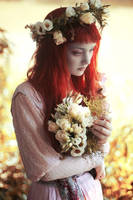 Ophelia with Flowers by LaVengeanceSucree