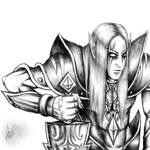 Mystic Elf Sketch