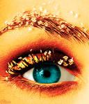 colorized eye