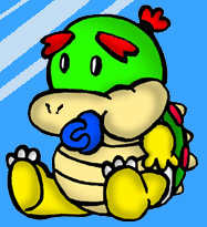 Baby Bowser by MarioBabies-FanClub