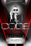 Code Red Party Flyer