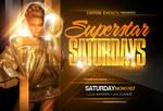 Superstar Party Flyer