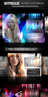 Intrigue Party Flyers PSD