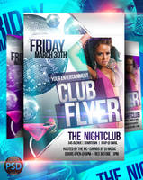 Club Flyer PSD Templates by ImperialFlyers
