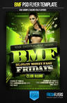 BMF Party  Flyer Templates