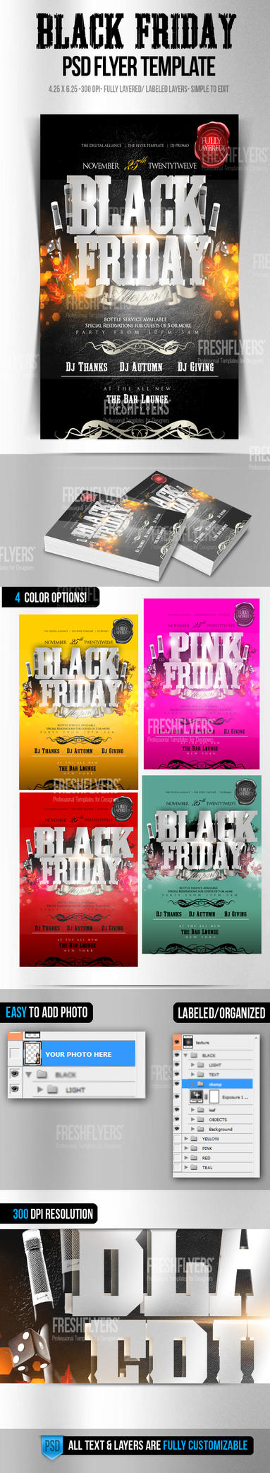 black friday thanksgiving party flyer template by imperialflyers on deviantart. Black Bedroom Furniture Sets. Home Design Ideas