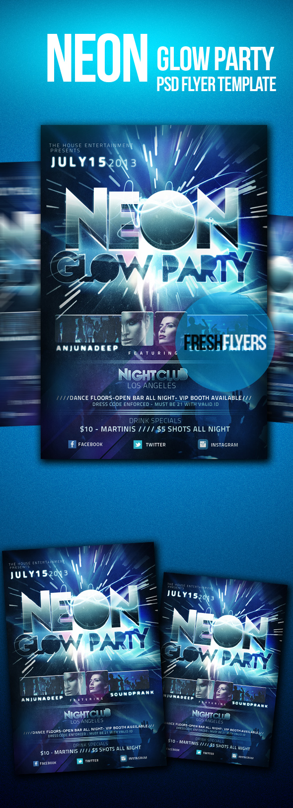 Anniversary Psd Flyer Template By Imperialflyers On
