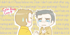 Castiel is innocent! by MugenMusouka