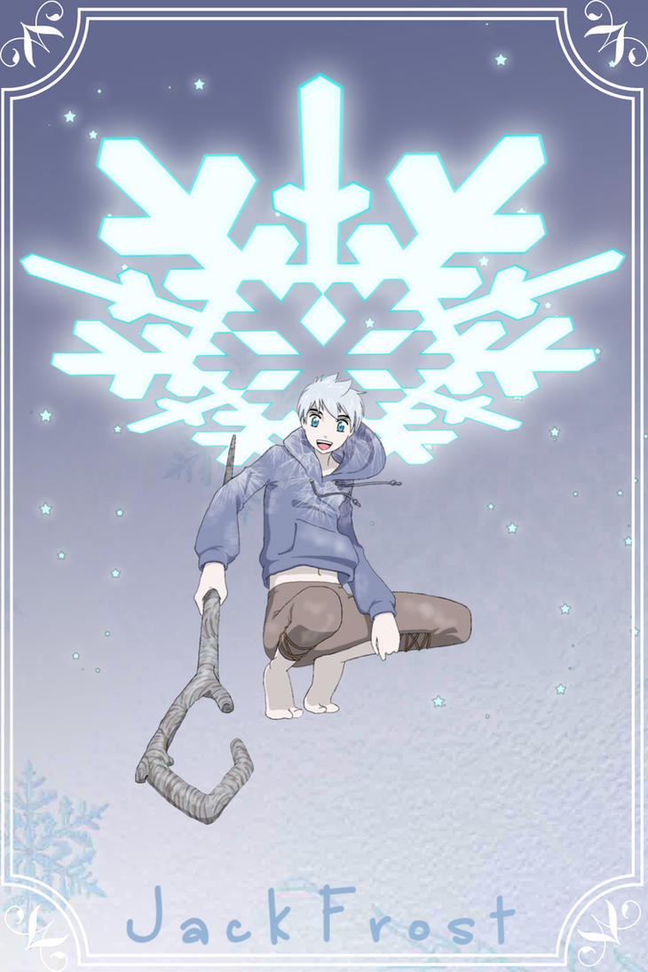 Jack Frost Book Cover? by MugenMusouka