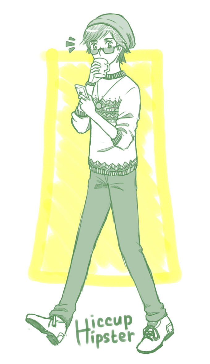 Hipster! Hiccup by MugenMusouka