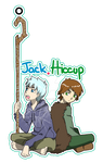 Keychain Jack and Hiccup