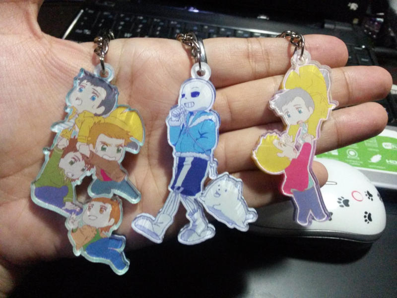 Keychains =D by MugenMusouka