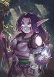 World of Wacraft Commission by YumiBaker