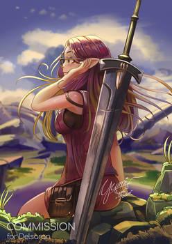 Elezen Final Fantasy XIV Commission